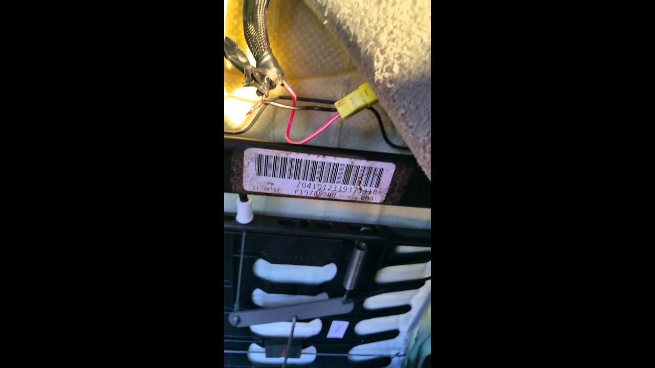 small resolution of 2013 dodge avenger air bag light fix