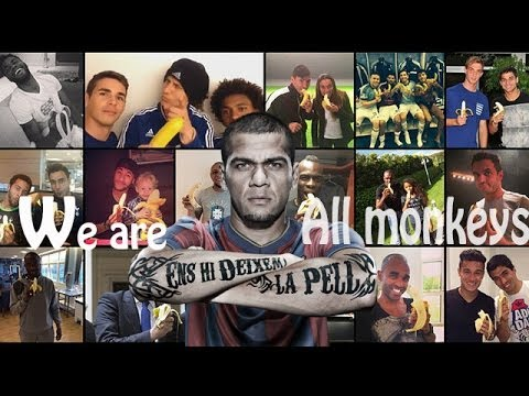 we are all monkeys #support dani alves