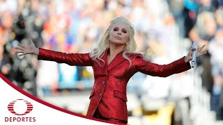 Lady Gaga en el Super Bowl LI en #El5ALas5XEl5 | Televisa Deportes