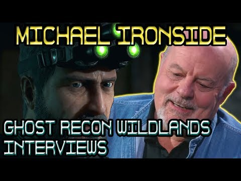 Michael Ironside s with UbiBlog and Inside Xbox 🞔 Ghost Recon Wildlands 🞔