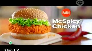 Mcdonalds - Mcspicy Chicken Burger ; Tvc (iklan)