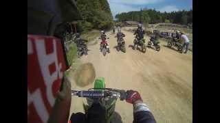 Umagoya Kids Motocross May 6, 2013 65cc class practice