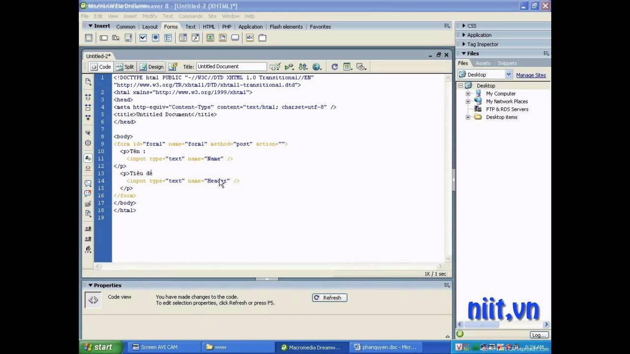 Lập trình PHP với post-get form-Phần 1