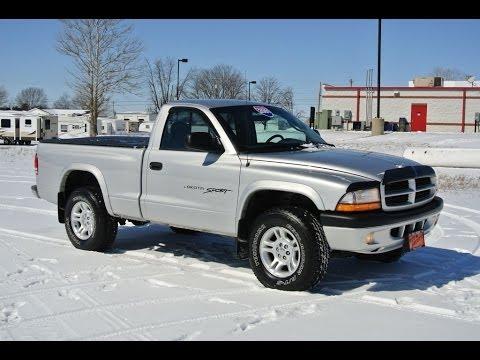 2001 Dodge Dakota Sport For Sale Dealer Dayton Troy Piqua Sidney Ohio   CP13823T