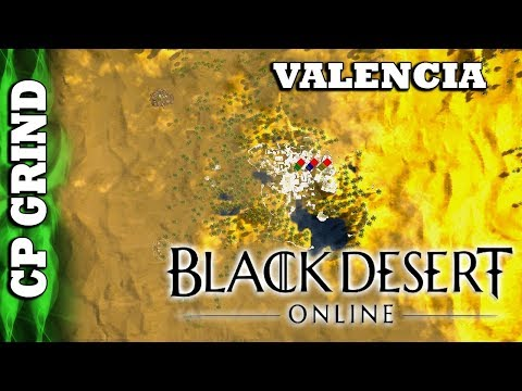 Black Desert Online - World Tour - CP Grind : Valencia