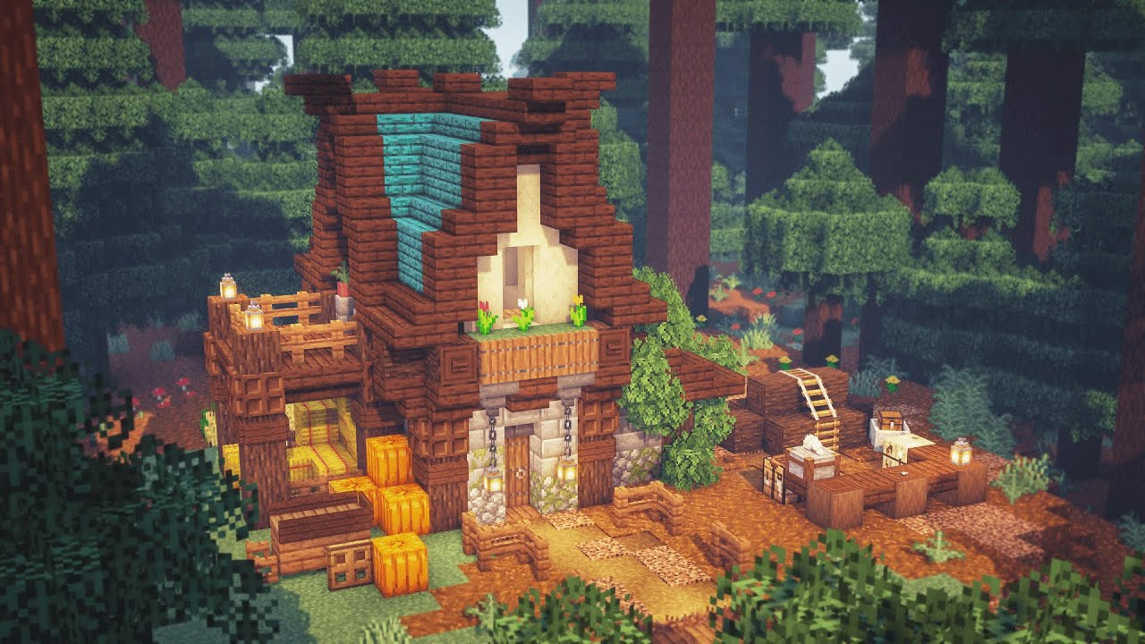 Minecraft   How to Build a Simple Survival House   Starter House
