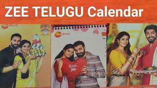 Download lagu ZEE TELUGU Calendar #ammayamajaka# #madhusri#