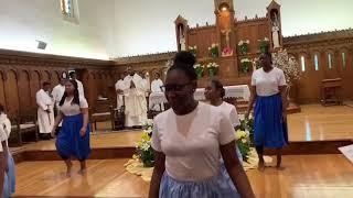 Gloria mimé par les Jeunes du Sacré-Coeur (JSC)