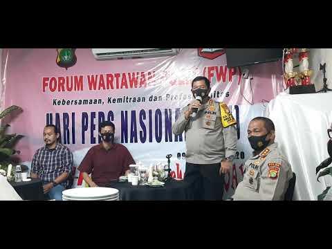 Download Kapolda Metro Irjen Nana Sudjana beri arahan ke pengurus Forum Wartawan Polri (FWP) yang baru(1)