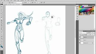 How to Draw: Person Running at You