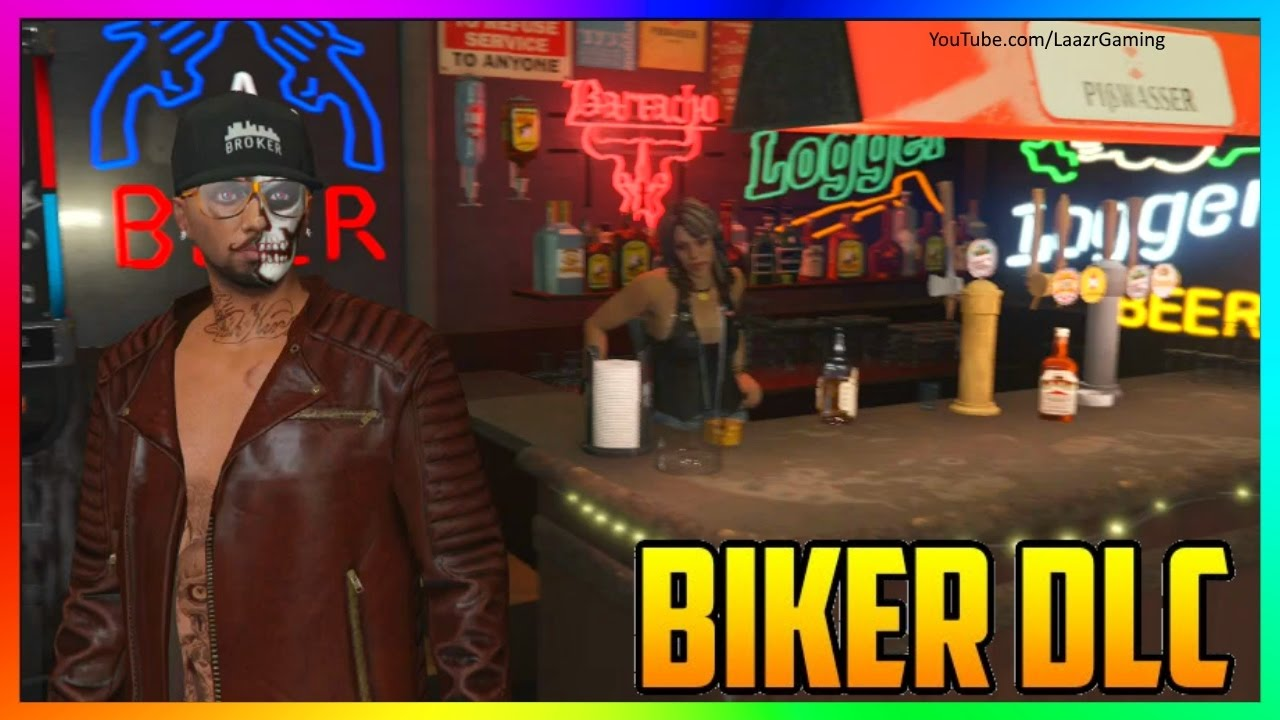 how to start biker club gta