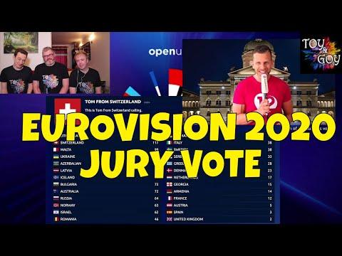 EUROVISION 2020 - ALL JURY VOTING - QUARANTINE EDITION