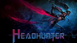 League of Legends: Headhunter Akali (Skin Spotlight)