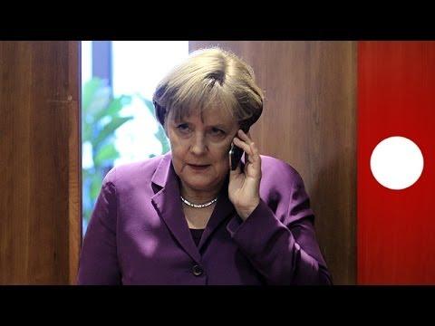 Merkel to Obama: 'Did you tap my phone?'
