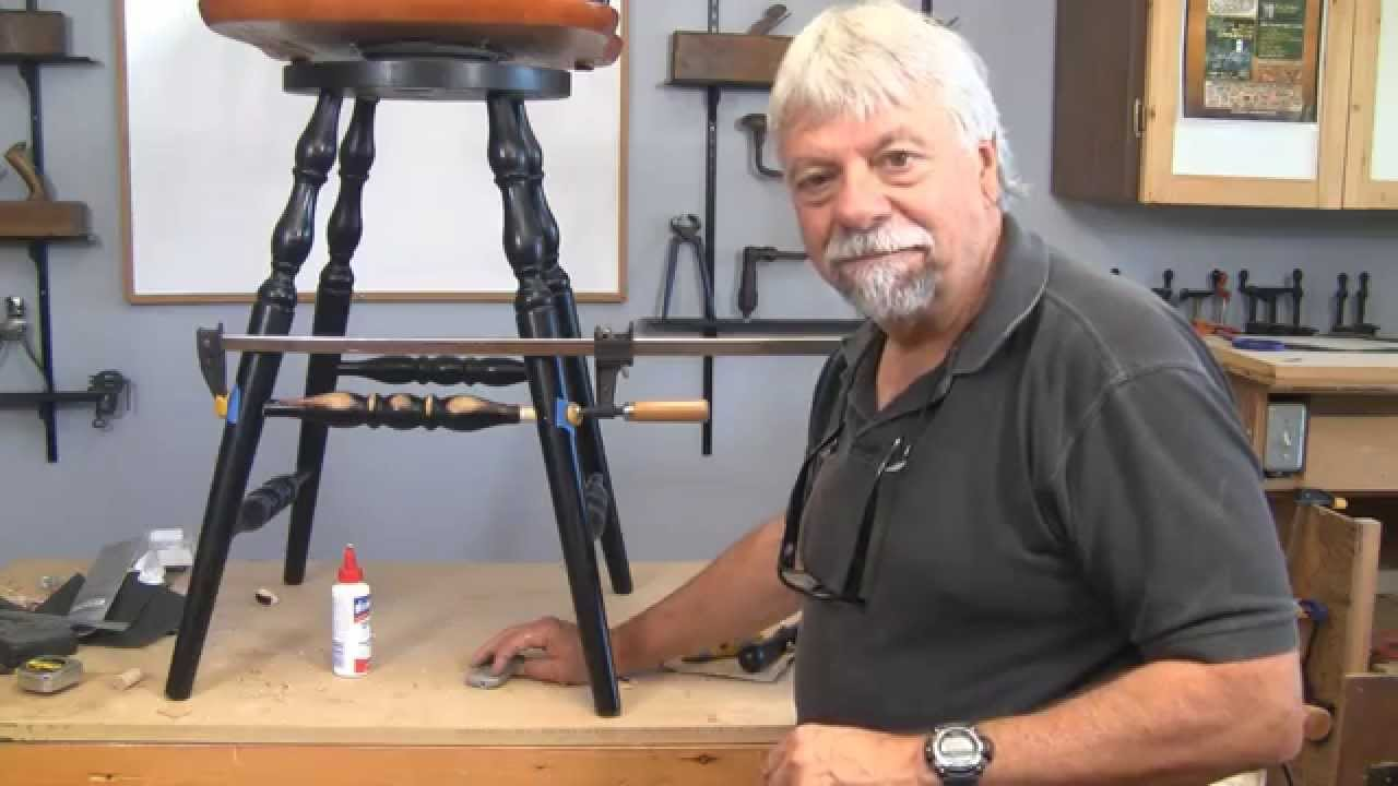 Genial How To Repair Chair Rungs Without A Lathe   A Woodworkweb Woodworking Video