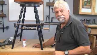 How To Repair Chair Rungs Without A Lathe - A Woodworkweb Woodworking Video