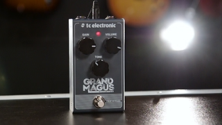 Tore Mogensen Demos The TC Electronic Grand Magus Distortion Effect Pedal