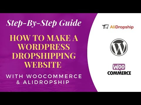 How to Make a DropShipping Website with WordPress, AliDropship, WooCommerce & Make 80k Monthly thumbnail