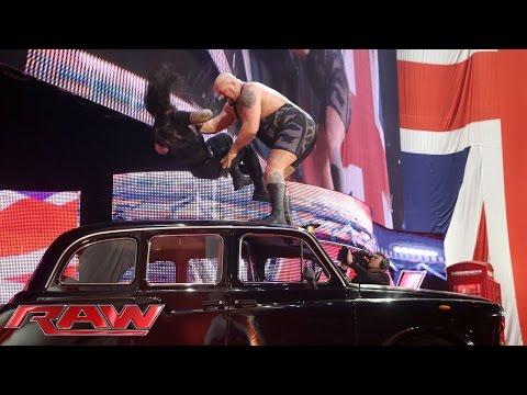 Big Show Interrupts Roman Reigns' Interview: Raw, April 13, 2015