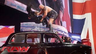 Big Show interrupts Roman Reigns' interview: Raw, April 13, 2015