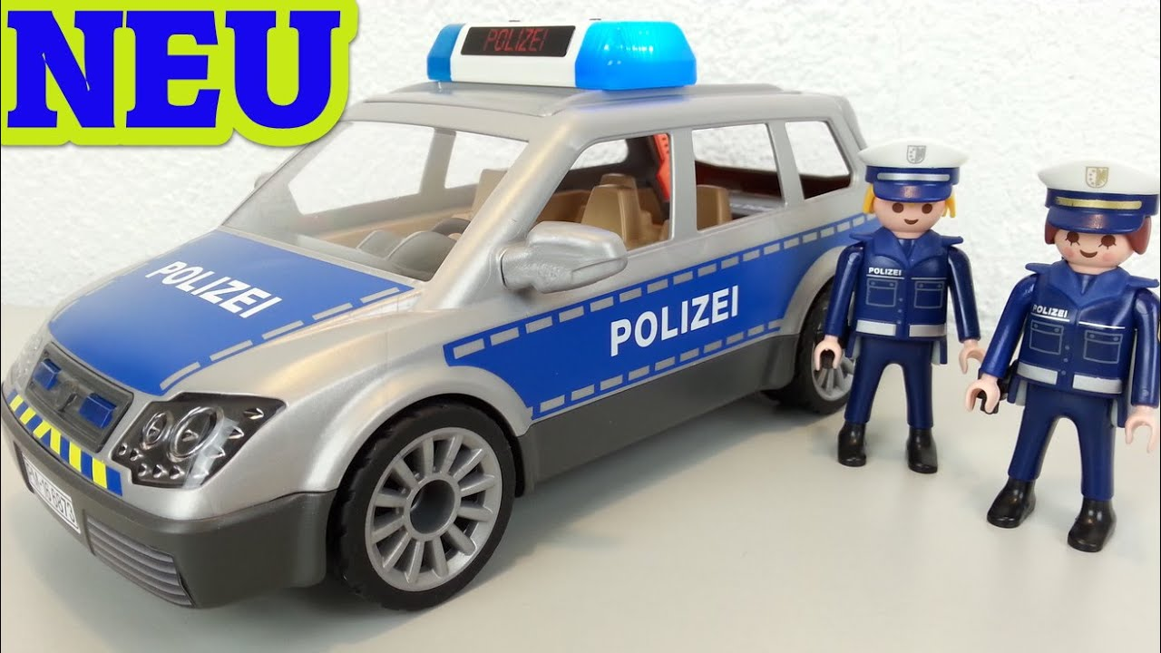 playmobil polizei einsatzwagen 6873 auspacken seratus1. Black Bedroom Furniture Sets. Home Design Ideas
