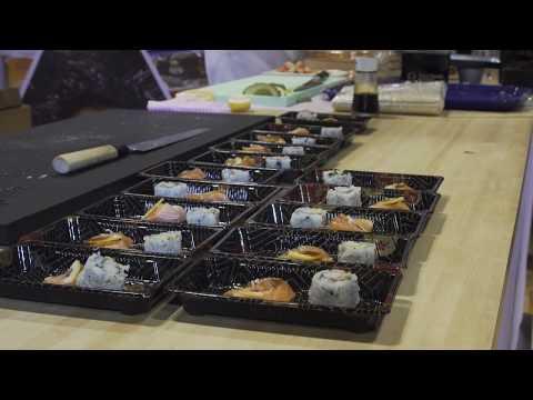 True World Foods National Restaurant Show 2018 Sushi Presentation