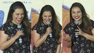 Rani Mukerji FUNNY MOMENTS At Hichki Trailer Launch