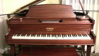 Carolina Shout on piano roll