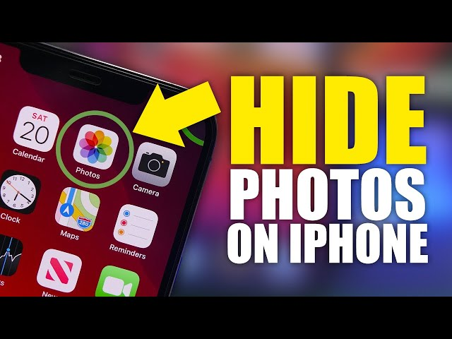 2 Ways to Hide Photos from iPhone 2021 | Hide Photos on iPhone