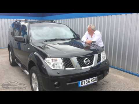 In between size jeep... Nissan Pathfinder Dci Aventura E4 (2007) - Steve's review