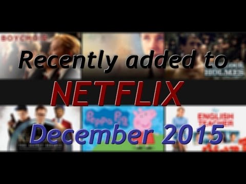 What's new on Netflix in December 2015?