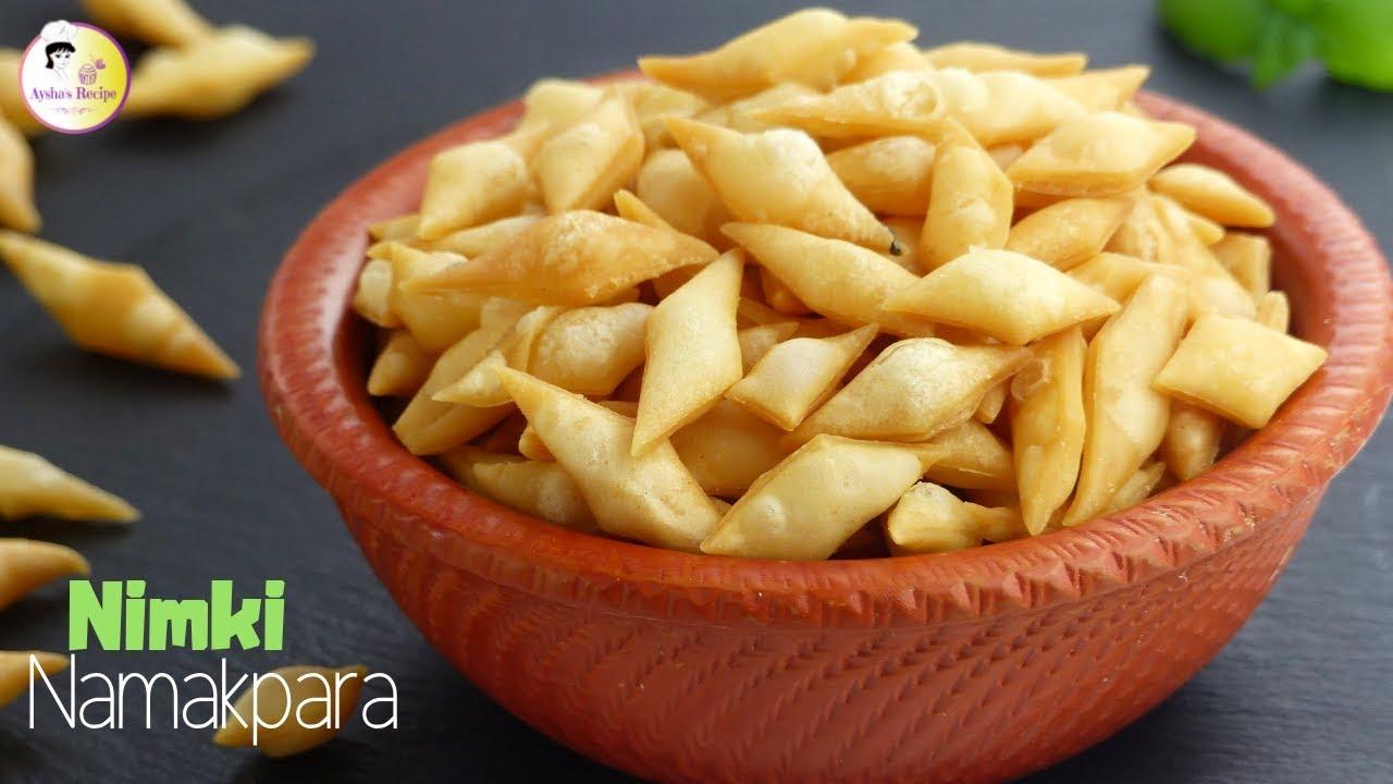 Download বেকারি স্টাইলে মুচমুচে নিমকি    Bangladeshi Bekary style Nimki Recipe  Crispy Namak Pare/ Namkeen