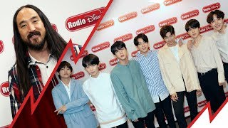 "Steve Aoki Talks ""Waste It On Me"" with BTS Radio Disney"