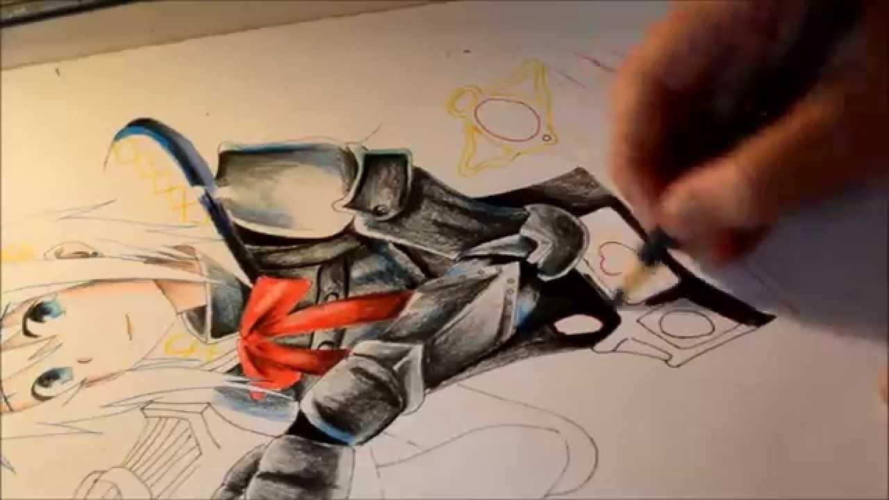 Drawing Sayaka Miki Puella Magi Madoka Magica