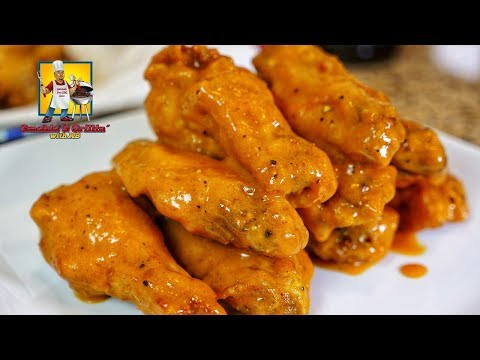 Sweet And Spicy Mustard Wings | Chicken Wings | Game Day Food