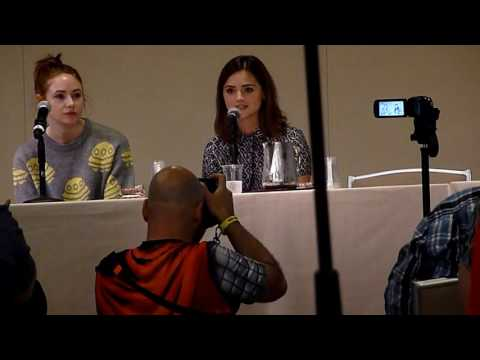Karen Gillan & Jenna Coleman: Companion Panel Boston Comic Con 2016