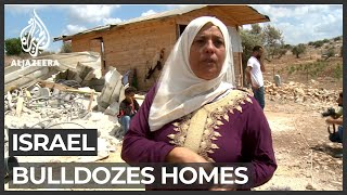 Israel begins bulldozing villagers' homes in West Bank