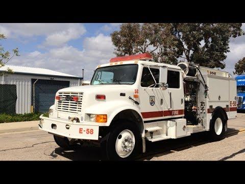 U.S Fish & Wildlife Service Fire Management Engine 58