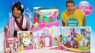 Disney Princess DUNK TANK Toy Challenge!!!    Toy Review    Konas2002