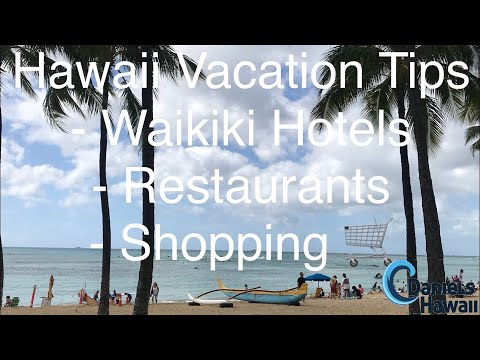Waikiki LIVE - Hawaii vacation tips - Hotels, Restaurants & Shopping