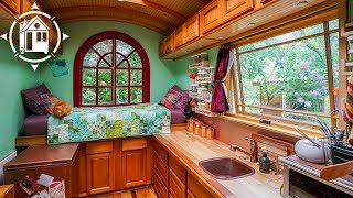 She Lives Simply In A Portland Tiny House Community