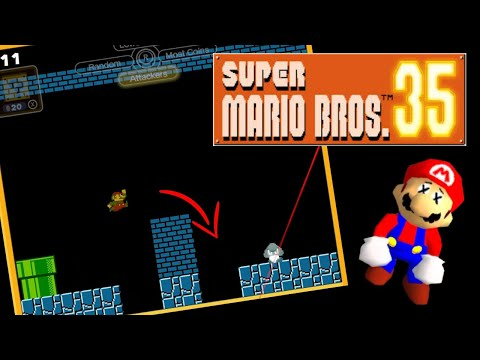 How NOT to Win Super Mario Bros 35, a Tutorial for Failure |