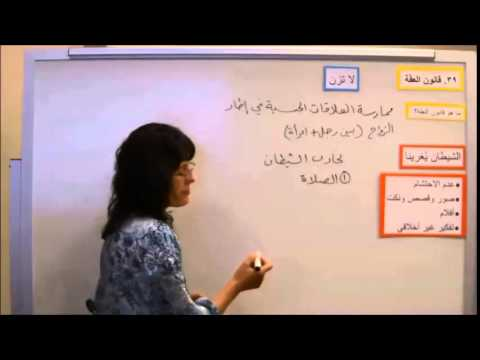 Lesson 39 - The Law of Chastity - Gospel Principles in Arabic