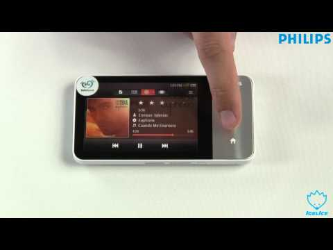 Philips GoGear Muse MP4 Player Unboxing German & Kurzreview