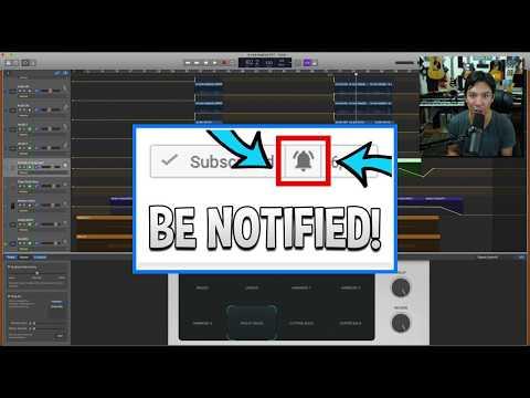 Garageband Tutorial: HOW TO make your chorus HUGE using bass sounds.