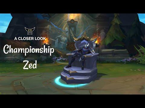 Championship Zed Legacy Skin