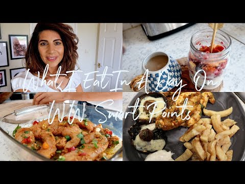 What I Eat In A Day On Weight Watchers Smart Points WW | Natasha Summar
