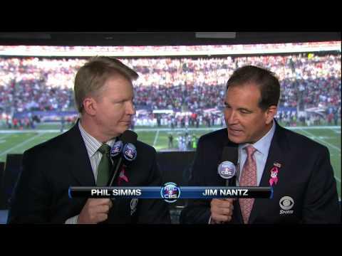 NFL on CBS 2012 - Jets vs Patriots - open
