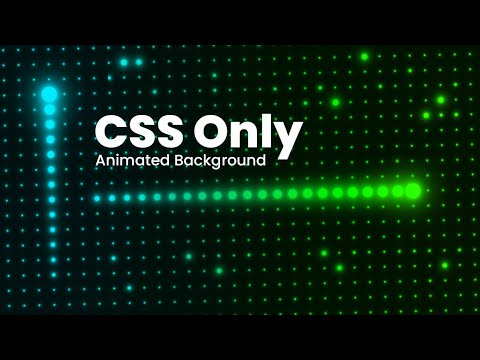 CSS Creative Background Hover Effects | Glowing Dots Animation using HTML & CSS Only