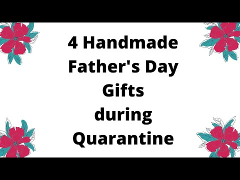 FATHERS DAY GIFTS DURING QUARANTINE | Best Father's Day Gift Ideas 2020